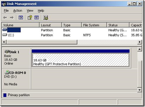 GPT Protective Partition